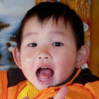 美国可爱小孩大笑图片影